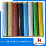 Corte fácil, vinil vívido da transferência térmica do plutônio da cor para a camisa de T, largura 50 comprimentos do Cm 25 M para toda a tela