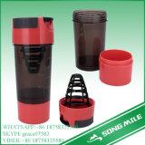 18oz BPA a perfetta tenuta liberano la bottiglia dell'agitatore di potere della proteina di sport
