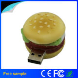 GroßhandelsPromotional Food Hamberger Shape PVC Pendrive 2GB