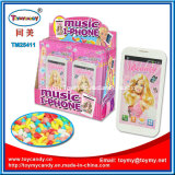 Princesa Talking Music Phone Toy con el caramelo