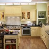 Ritzの工場価格の純木の食器棚デザイン