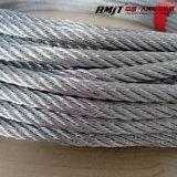 Веревочка стального провода Galvanzied высокого качества