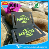 Tag plásticos personalizados da bagagem NFC da impressão RFID