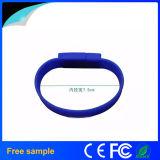 Vara por atacado 2GB da memória do bracelete do silicone do USB do preço de fábrica