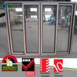 PVC Wooden Slide /Sliding Open Windows per Balcony