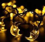 Luna dell'indicatore luminoso della stringa di energia solare 20-LED per l'Nuovo-Anno Lh-Ss21 di cerimonia nuziale di natale