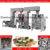 Máquina de embalagem automática vertical para a microplaqueta de batata que pesa e que embala