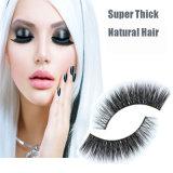 Pestañas falsas Mfe1008 del nuevo pelo natural largo grueso estupendo del estilo