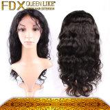 アフリカの女性の方法毛のアクセサリの長く黒いRemyの毛のかつら