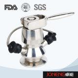 Válvula aséptica del muestreo de la categoría alimenticia del acero inoxidable (JN-SPV1002)