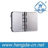 Liga do zinco Yh9327 dobradiça de 180 graus para o armário elétrico