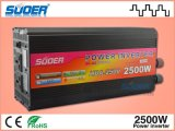 Suoer Solar Power Inverter 2500W Modificado Sine Wave Power Inverter 12V a 220V Inversor Solar para Uso Doméstico com CE & RoHS (HDA-2500A)