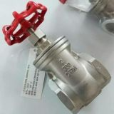Steel inoxidable 304 CF8 200wog Threaded Extremo NPT Gate Valve