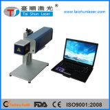 Máquina portátil da marcação do laser do metalóide do CO2 do RF para a impressão do código de barras