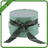 Ronde Doos/de Ronde Doos van de Gift met Lint voor Bloem