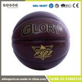Duurzaam Donker Bruin Gelamineerd Basketbal