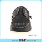 Классицистические ботинки шлюпки кожи конструкции