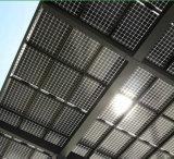 Chiaro e Indicatore luminoso-Transmitting Solar Thin Film Modules Back Connected
