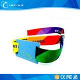 Браслет браслета ткани Wristbands таможни сплетенный RFID сплетенный RFID