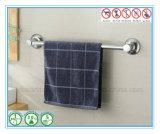 Crémaillère d'essuie-main d'étagère de salle de bains avec la barre d'essuie-main simple