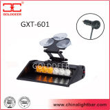 De Lichten van de amber Witte LEIDENE van de Kleur Waarschuwing van het Vizier voor Auto (gxt-601)