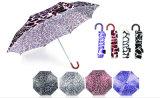 水さざ波プリントガラス繊維の防風の傘(YS-SM23083907R)