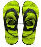Zapatos ocasionales del deslizador del fracaso de tirón de la última impresión del diseño 3D (FF68-12)