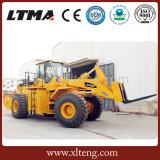 Ltma 25 톤 판매를 위한 중국 포크리프트 바퀴 로더
