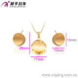 18k Gold Color 63344에 있는 Women의 Best Gift Plated를 위한 Xuping Fashion Charming Jewelry Set