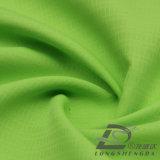 água de 50d 290t & do Sportswear tela 100% listrada tecida do poliéster do jacquard da manta da pele do pêssego do Pongee para baixo revestimento ao ar livre Vento-Resistente (53044D)