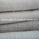 Tela de lino de la mezcla sólida para la ropa/la cortina/la tapicería