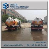 Carro de petrolero de la succión de la alcantarilla Dongfeng 5000 litros de aguas residuales que aspiran el carro para la venta