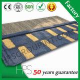 Accesorios revestidos del azulejo de azotea del metal de construcción de la piedra colorida de los materiales
