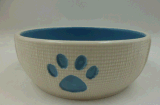 Pawsの石器Cat Bowl