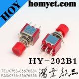 Kippschalter-Druckknopf-Selbstrücksetzen des Hersteller-Mts-202 6pin auf weg von Schalter