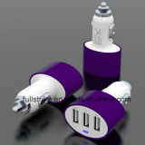 High Quality 3 USB Ports Car Charger for Mobile Phone