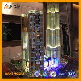 Het Vierkante Model van Shanghai/het Model van de Bouw/Al Soort Tekens/Modellen van de Bouw van de Bouw van het Model/van het Monomeer van de Bouw van het Project de Commerciële Model Commerciële