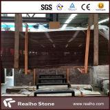 De alta calidad Obma negro de madera de mármol losa para pisos