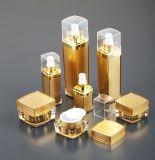 Bouteille acrylique vide de jet de lotion de produits de beauté