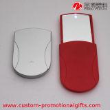 Espejo cosmético de la diapositiva plástica al aire libre con la luz del LED