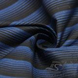 Acqua & di modo del rivestimento prodotto cationico intessuto rivestimento Vento-Resistente 100% del filamento del filato del poliestere a strisce del jacquard giù (X025)