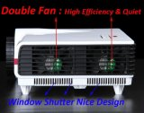 Proiettore natale domestico di risoluzione del teatro 720p di alta luminosità