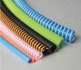 PVC 2016 a enduit le boyau flexible de Reinforement de couverture en plastique de fil électrique
