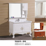Side Cabietの高品質Floor Standing Wood Bathroom Vanity