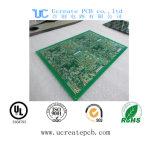 녹색 땜납 가면을%s 가진 감응작용 요리 기구를 위한 두 배 측 PCB