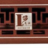 Rectángulo de madera del áloe de alto grado de madera sólida y rectángulo del achiote