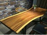 Mesa de jantar em madeira de nogueira de estilo chinês para casa ou restaurante (SD-010)
