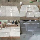 Telha de mármore superior de mármore de cristal por atacado de Bianco Carara Volakas
