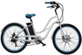 Ciclo elétrico do melhor cruzador da praia para a loja motorizada da bicicleta