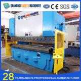 Freno hidráulico de la prensa de la hoja del hierro del CNC de We67k
